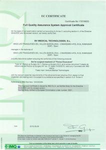 Cert.-Nº-1787-MDD---BV-MEDICAL-TECHNOLOGIES,-S.L.-(Inglés)